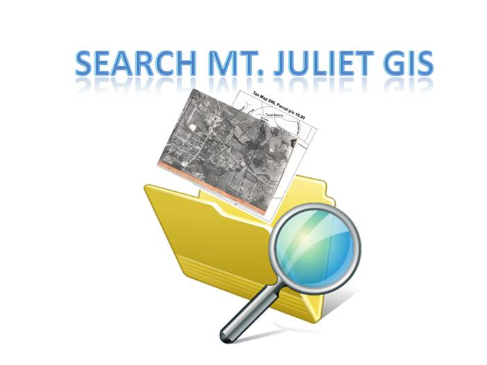 Search Mt. Juliet GIS